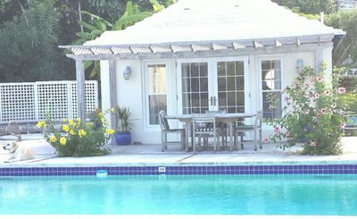 Photo for Pool House in a garden setting