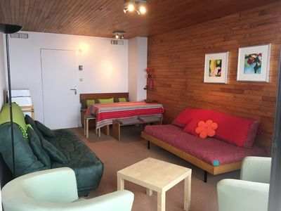 Photo for Apartment - 2 pieces - 6 people - Higher floor - Near the slopes - 50m Daycare
