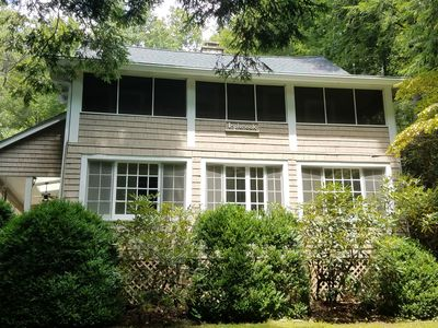 Photo for Circa 1907 Updated Home; 1/4 mile inside Montreat Gate on rare level, large lot