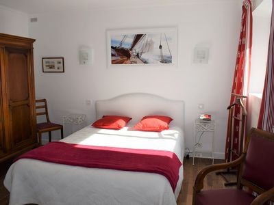 Photo for Apartment all on the groundfloor of a house with independent access to TREGASTEL