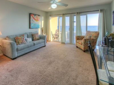 Photo for Beautiful Gulf front Condo w/ Patio & Outdoor Shower! Beach Equipment Included