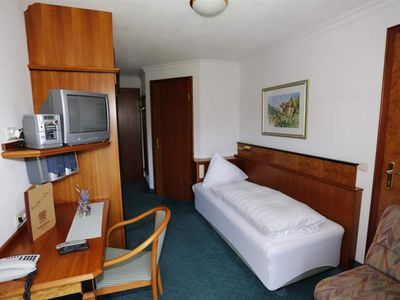 Photo for Single room, shower, toilet - Edelweiss, hotel
