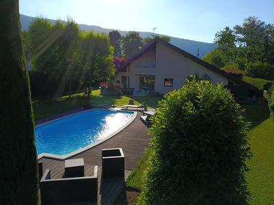 Photo for 400 m from the lake, architect villa 300 m2. swimming pool on 2000 m2 of land.