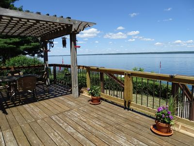 Photo for Spectacular Lake Front Views Offers Privacy, Peace & Serenity! Pet Friendly!