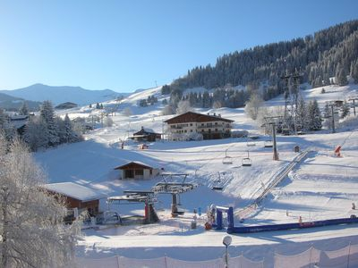 Photo for Stunning apartment, breathtaking views of Mont Blanc. Ski in/ski out of the apt