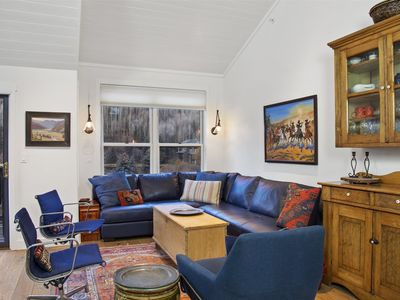 Photo for Cheery 3 Bedroom, 3 Bath Condo Steps from Town Park. A Local Gem with Beaver Creek Views.