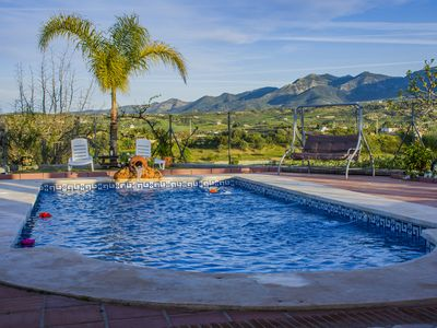 Photo for Typical Andalusian villa in beautiful setting with pool, barbecue and Jacuzzi