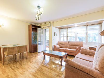 Photo for Apartment in a quiet area for 4 people - Wifi + Ac + Terrace