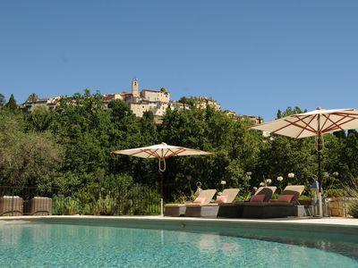 Photo for Magnificent Villa With Pool Enjoying Idyllic Views Of Town.