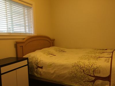 Photo for Two bedroom suite with owned kitchen and bathroom, 8 minutes to skytrain