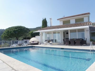 Photo for VILLA WITH POOL AND STUNNING SEA VIEWS ref OLIVA