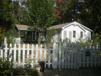 Photo for Charming Garden Cottage in Laurel Park Mts only minutes from Hendersonville