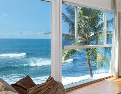 Photo for Oceanfront Penthouse, As Close As You Can Stay To Ocean, Stunning Views, A/C!