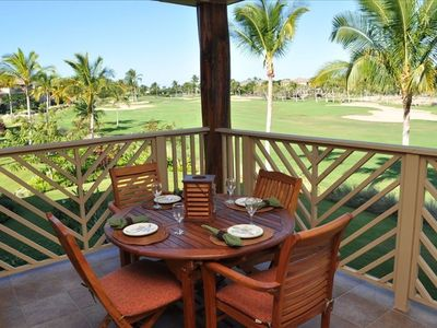 Photo for Sunset Golf Course Views from Lanai with Outdoor Kitchen!
