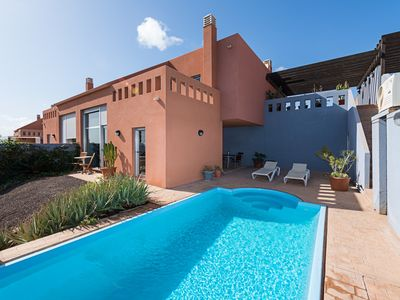 Photo for CASA LOLA, sea views with private pool and heated in autumn and winter.