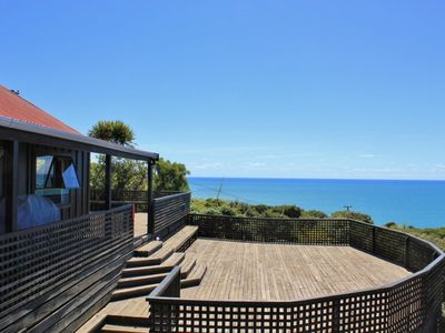 "Photo for The Big Deck - ""the best ocean views in Raglan"""