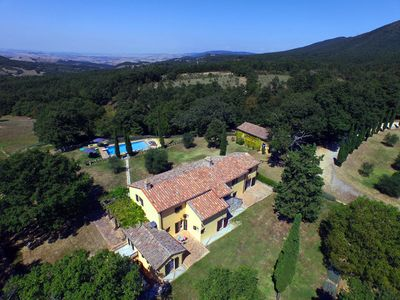 Photo for 5 bedrooms, private pool, wifi, 10min from San Casciano dei Bagni, amazing views