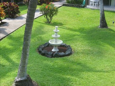 View of Courtyard from lanai.
