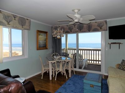 DIRECT OCEANFRONT -Only the Sand between you and the Ocean!