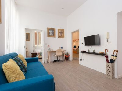 Photo for One bedroom Apartment, sleeps 4 in Vatican City State with Air Con and WiFi