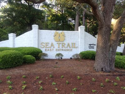Photo for GREAT VIEW!!-2BR/2BA condo off Maples #18, SEA TRAILS - No Pets