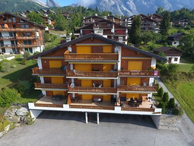 Photo for Apartment Viognier 5 in Ovronnaz - 4 persons, 1 bedrooms