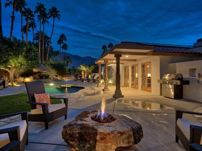 Photo for Private Desert Oasis - Luxurious & Modern, Salt-Water Pool & Spa