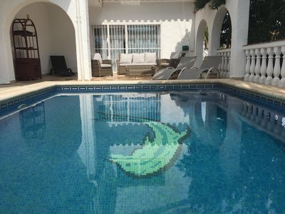 Photo for Magnificent villa with pool Empuriabrava