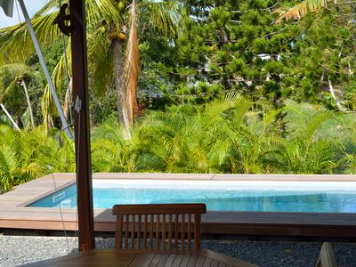 Photo for BUNGALOW OF CHARM THE 2 LIBELLULES WITH PRIVATE SWIMMING POOL