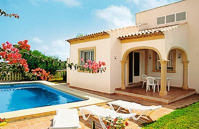 Photo for Vacation home Monte Javea  in Javea, Costa Blanca - 6 persons, 3 bedrooms