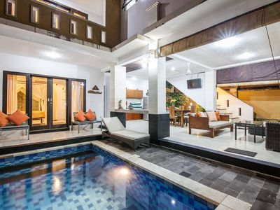 Photo for SMV -3BRPOL- JMPIRNG · ❤️3BR Private Pool Walk to Beach and Shops Legian