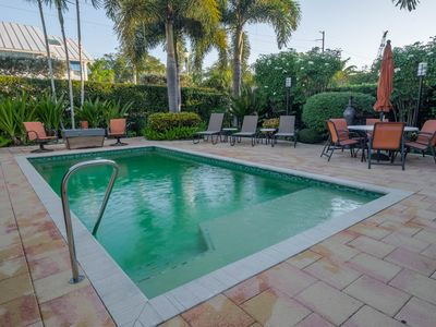 ONE block to Atlantic w/ Private Pool and more!