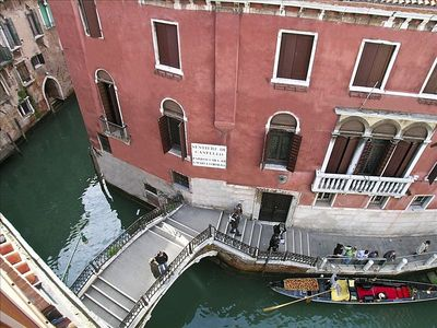 Watch the Gondolas Glide by from the Terrace and Windows