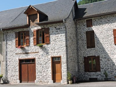 Photo for House in beautiful stone walls-a cozy nest in Trein d'Ustou.