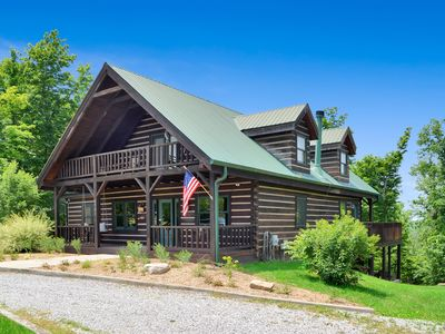 Photo for Large Log Cabin on a beautiful private farm estate only mins to Cincinnati!