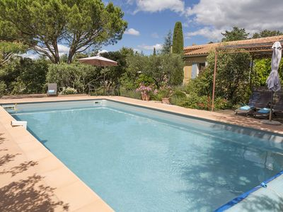 Photo for Provence House, Large Garden, Pool, Views, Walk To Centre Of Medieval
