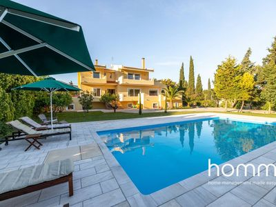 Photo for Villa Valmα homm with 5 bedrooms and private pool, 10ppl