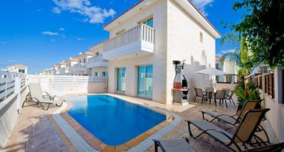 Photo for Protaras Deluxe Villa Okto is based only 200m from the beautiful resort of Protaras, on the south ea