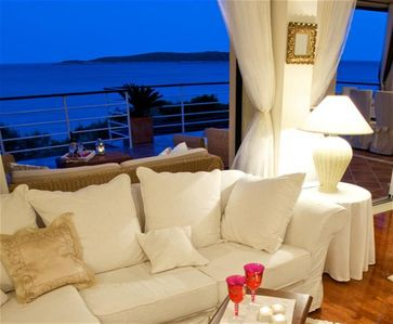Photo for CHIS VIS Holiday -  Luxury Beachfront villa SPECIAL RATES  WiFi Boat Mooring