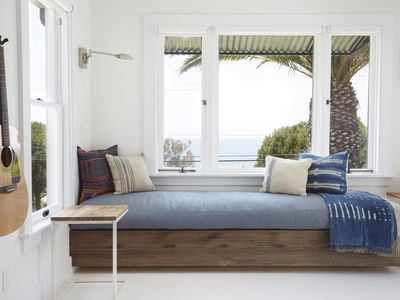 Photo for Stay at the Surf Bungalow at the Lazy Hummingbird for breathtaking ocean views!