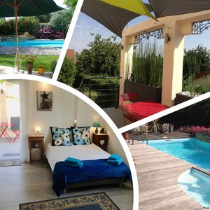 Photo for Maclado Studio in villa with pool between Paris and Orly Airport