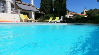 Photo for VILLA OCEAN VIEW PISICNE A 100 METERS FROM THE BEACH FOR 8 PEOPLE