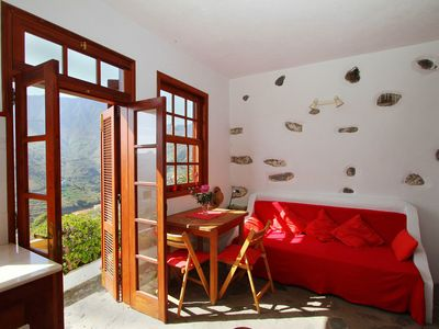 Photo for Tastefully decorated studio with terrace and panoramic views