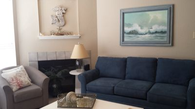"Photo for ""Island Breeze"" is a Cute 1 Bedroom Condo, Walking Distance to the Beach"