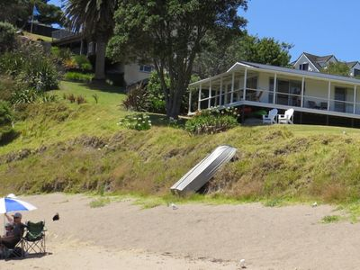 Photo for Beachfront Escape - Tapeka Beach Bach ** It does not get better than this