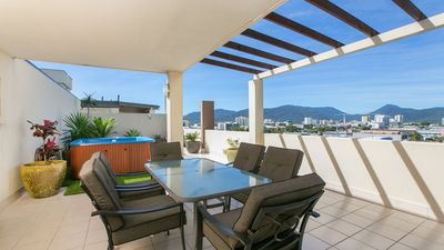 Photo for Rooftop Penthouse-amazing views-Free Wifi -Netflix