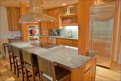 Beautifully Remodeled Kitchen - Granite, Stainless Steel