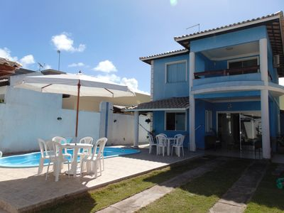 Photo for Nice house 3/4 swimming pool barbecue Condominium access to the river Capivara