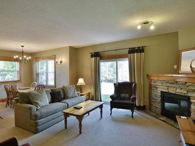 Photo for 2 Bedroom Mountain Side Condo on Shuttle Route - 7238  Blue Mountain Lodges