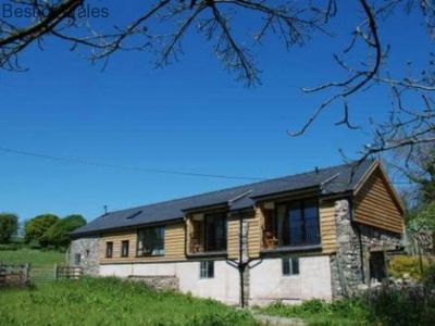 Photo for Pet friendly cottage in Mid Wales countryside, near the highest Waterfall in Wales